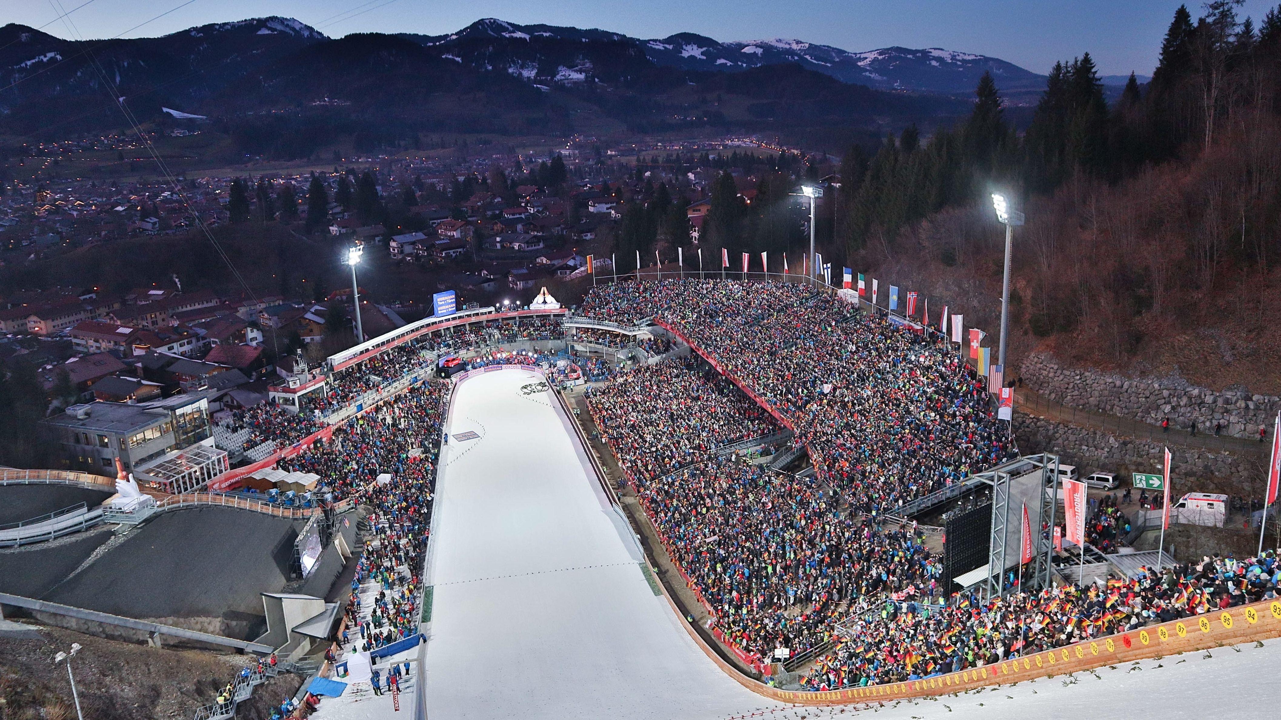 Skisprungstadion Oberstdorf