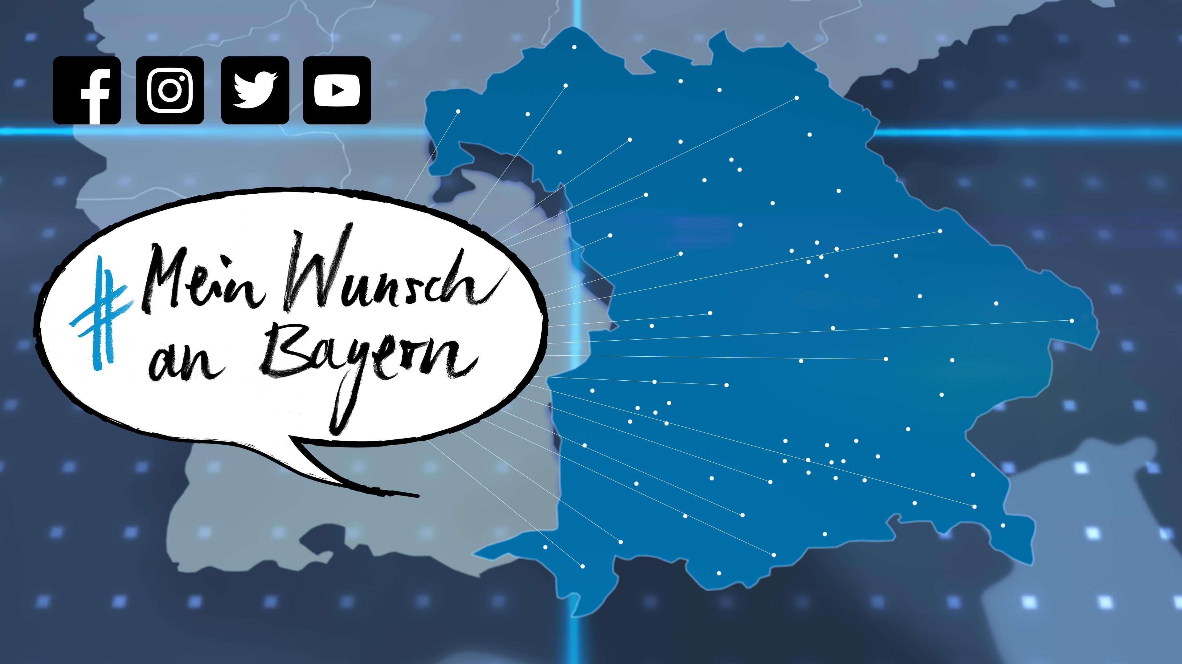 #MeinWunschAnBayern zur Landtagswahl in Bayern