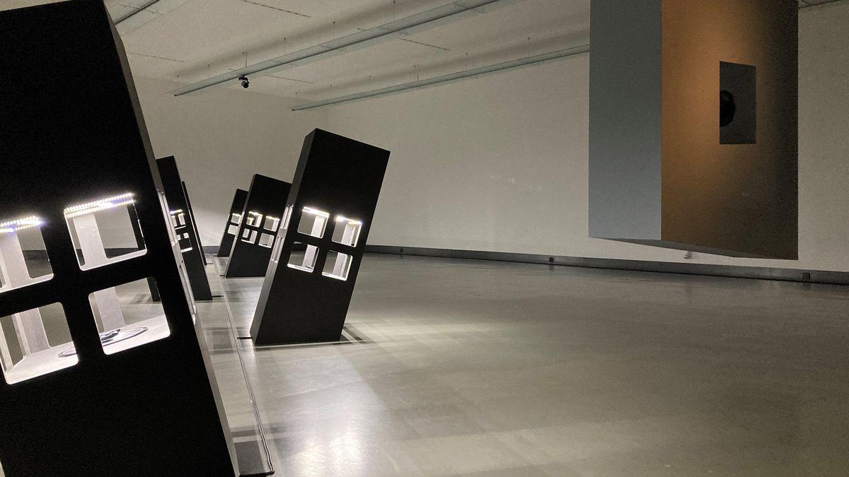 Ausstellungsraum im Würzburger Kulturspeicher
