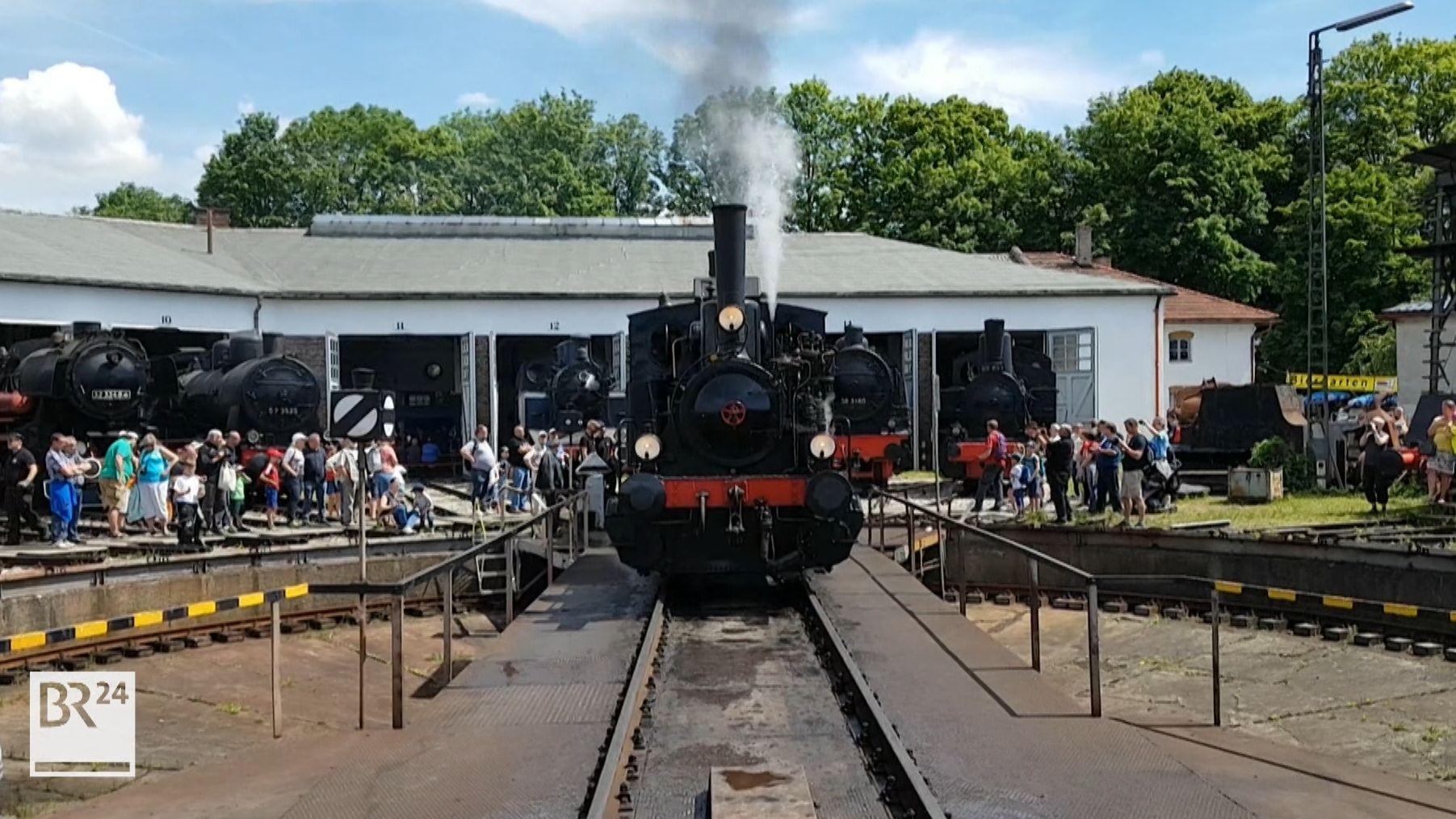 Bayerisches Eisenbahnmuseum in Nördlingen.