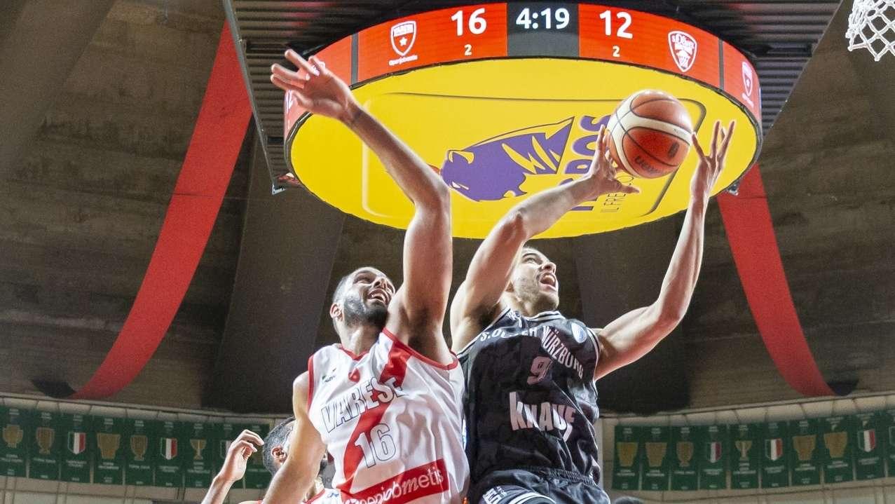 Basketball Würzburg gegen Varese