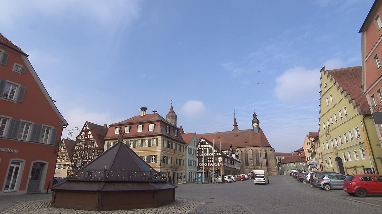 Feuchtwangen in Mittelfranken