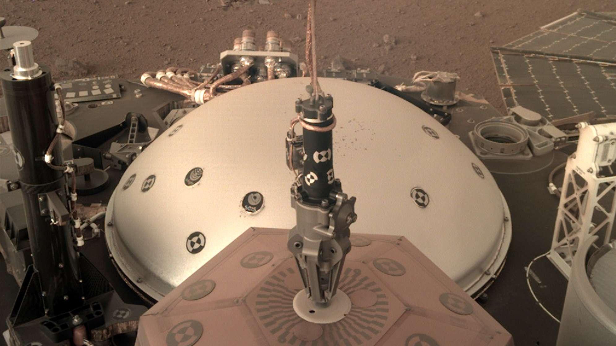 Seisometer der Mars-Sonde InSight