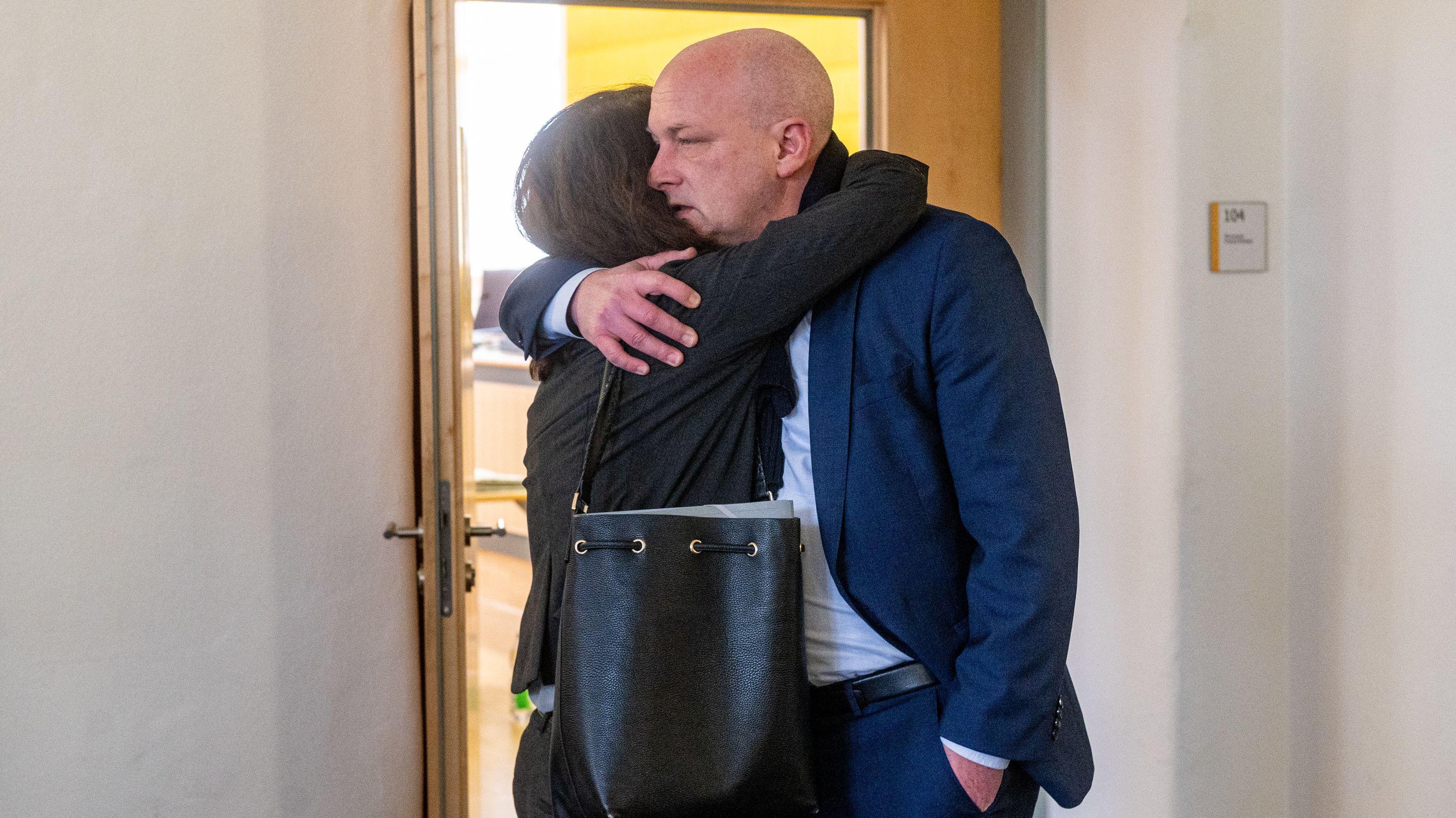 Anja Wolbergs hat erneut im Prozess gegen ihren getrennt-lebenden Ehemann ausgesagt.