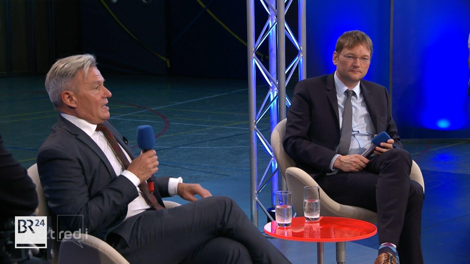 Horst Arnold (SPD) über den Wohnungsbau in der Vergangenheit.