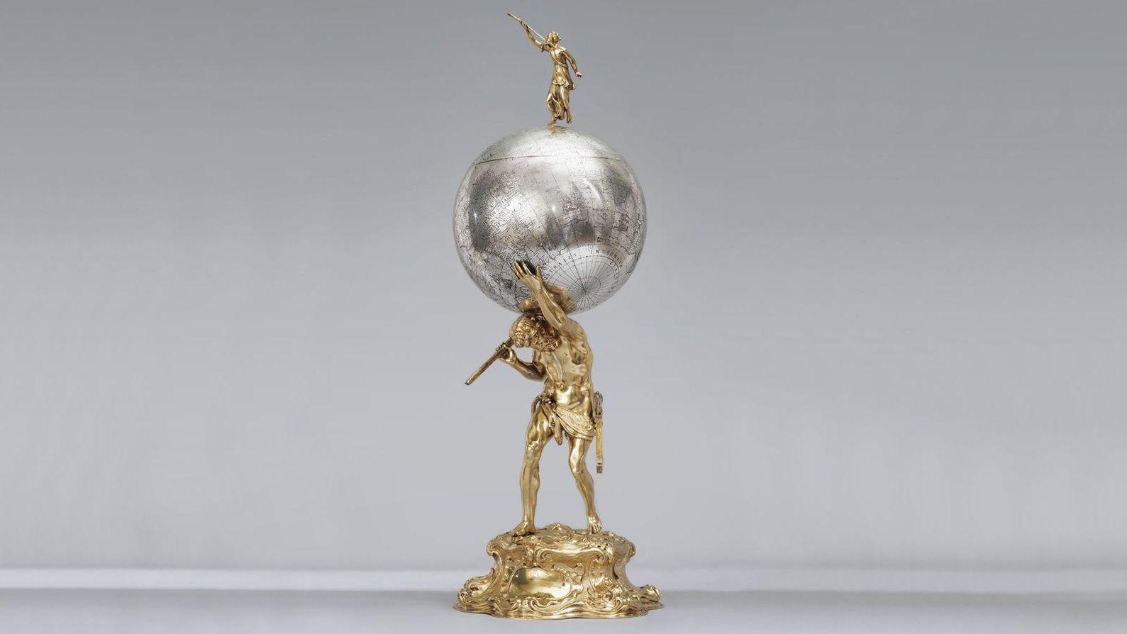 Pokal aus der Kunstsammlung des schwedischen Königshauses
