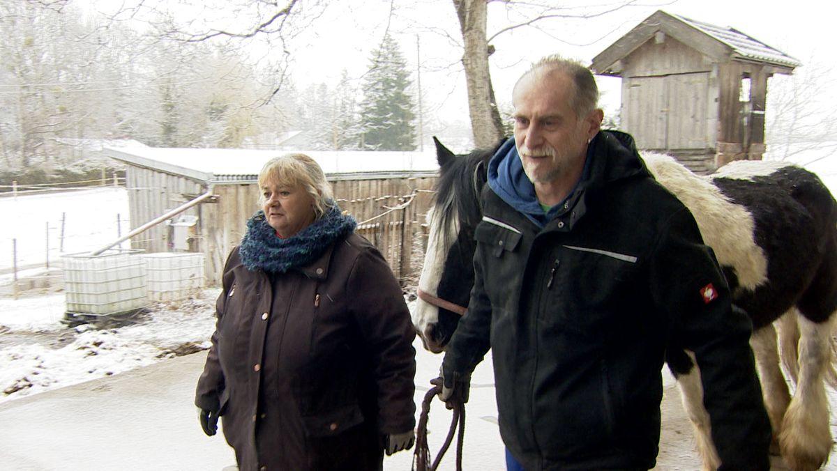 Die glücklichen Tage sind vorbei. Ehepaar Gradl sucht ein neues Zuhause für Mensch und Tier.