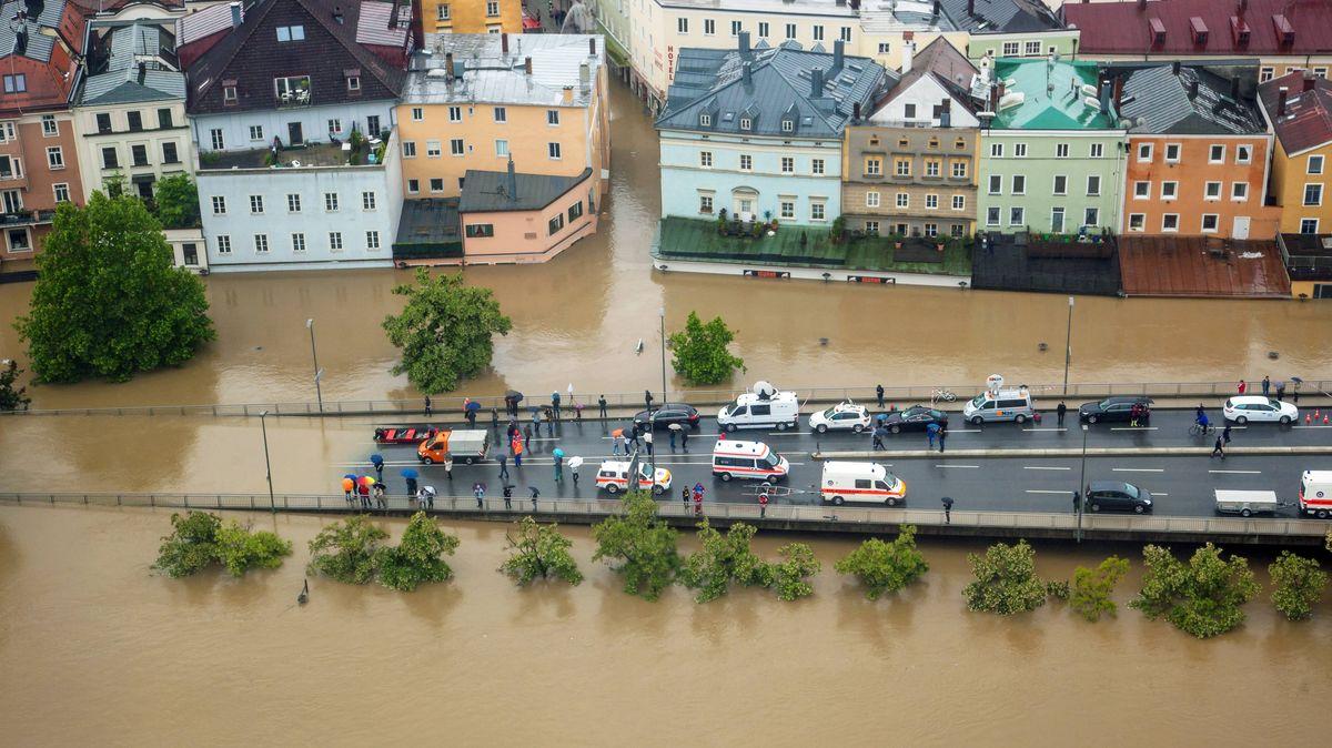 Jahrhunderthochwasser in Passau, Juni 2013