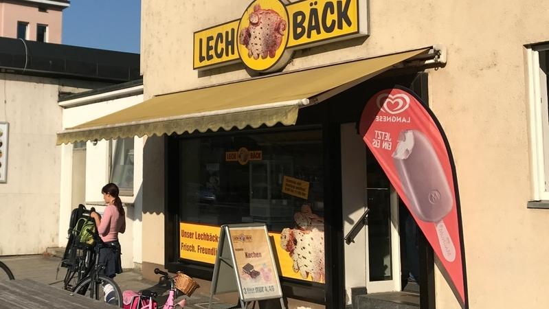 Ein kleiner Lechbäck-Laden in Augsburg - er gehört zu den Gersthofer Backbetrieben