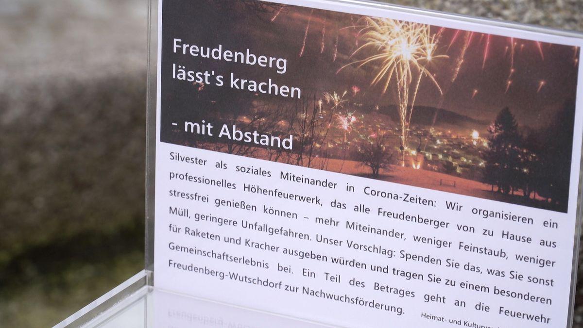 Spendenbox in Freudenberg