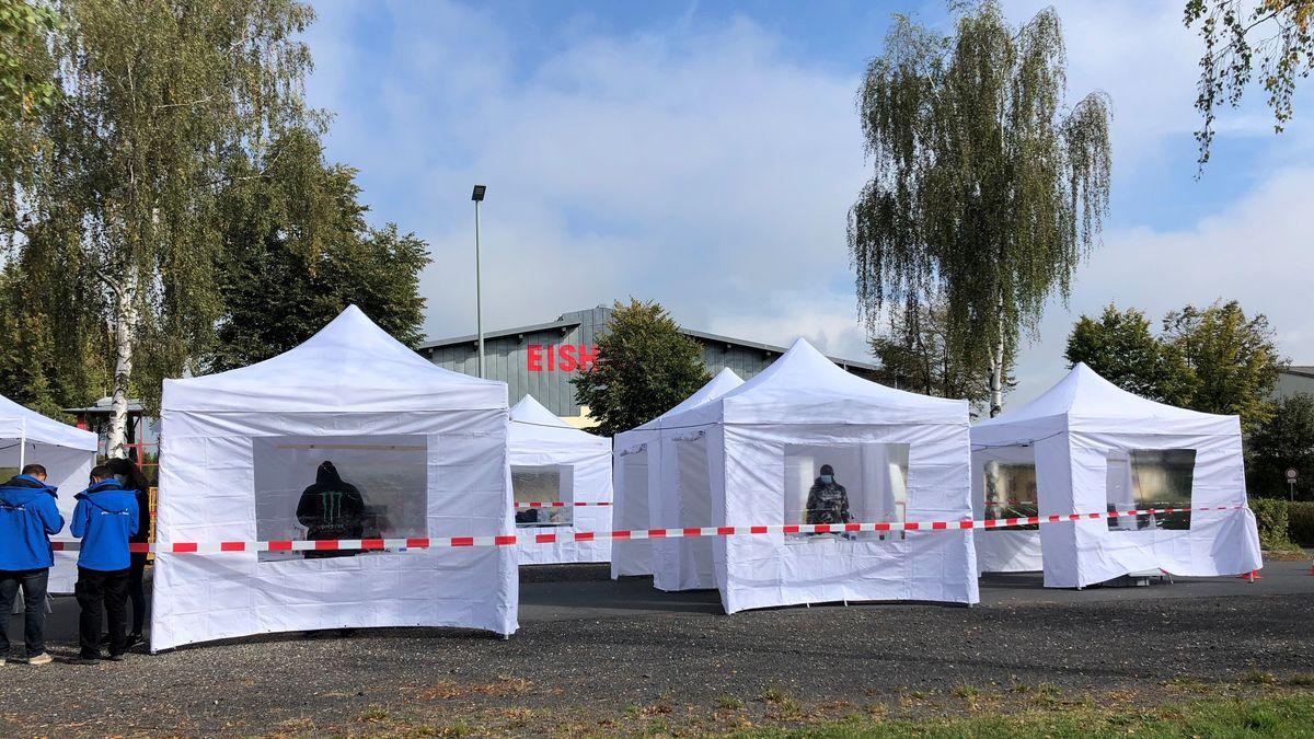Mobile Teststation im Landkreis Tirschenreuth