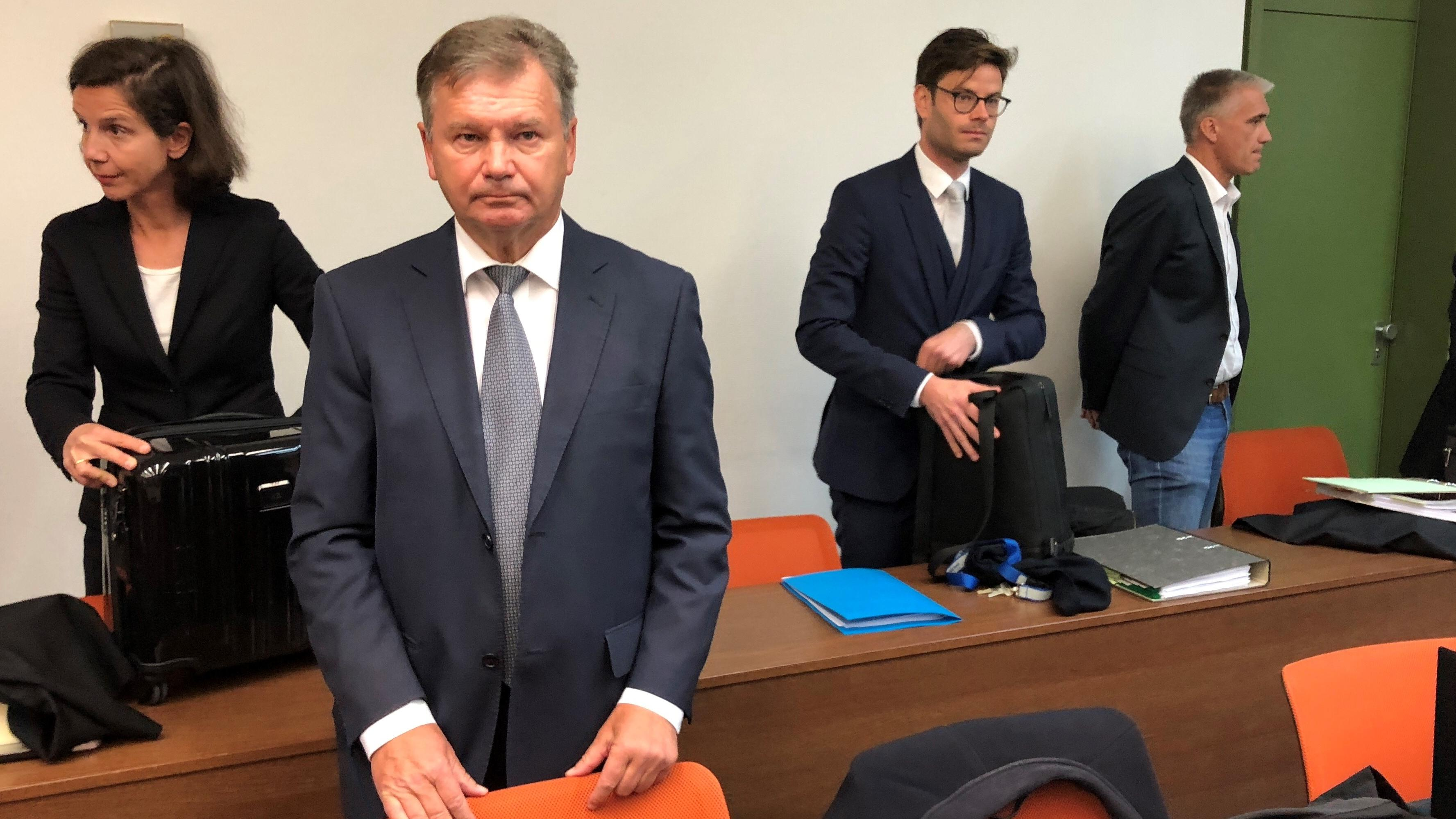 Jakob Kreidl im Gerichtssaal.