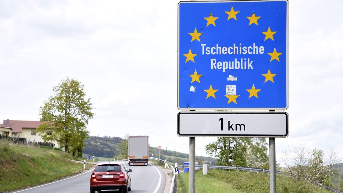 Grenzverkehr zwischen Deutschland und Tschechien