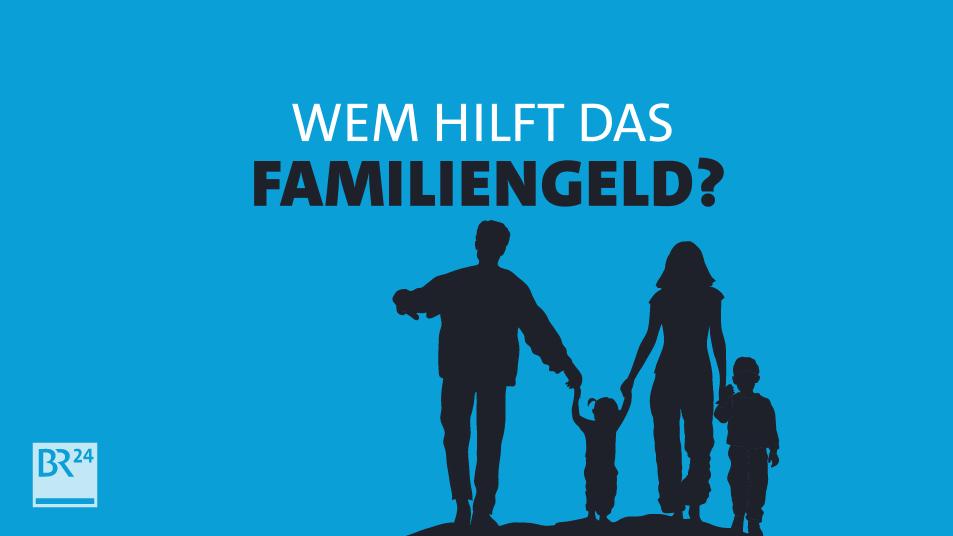 Familien mit Kindern, dazu die Frage Wem hilft das Familiengeld?