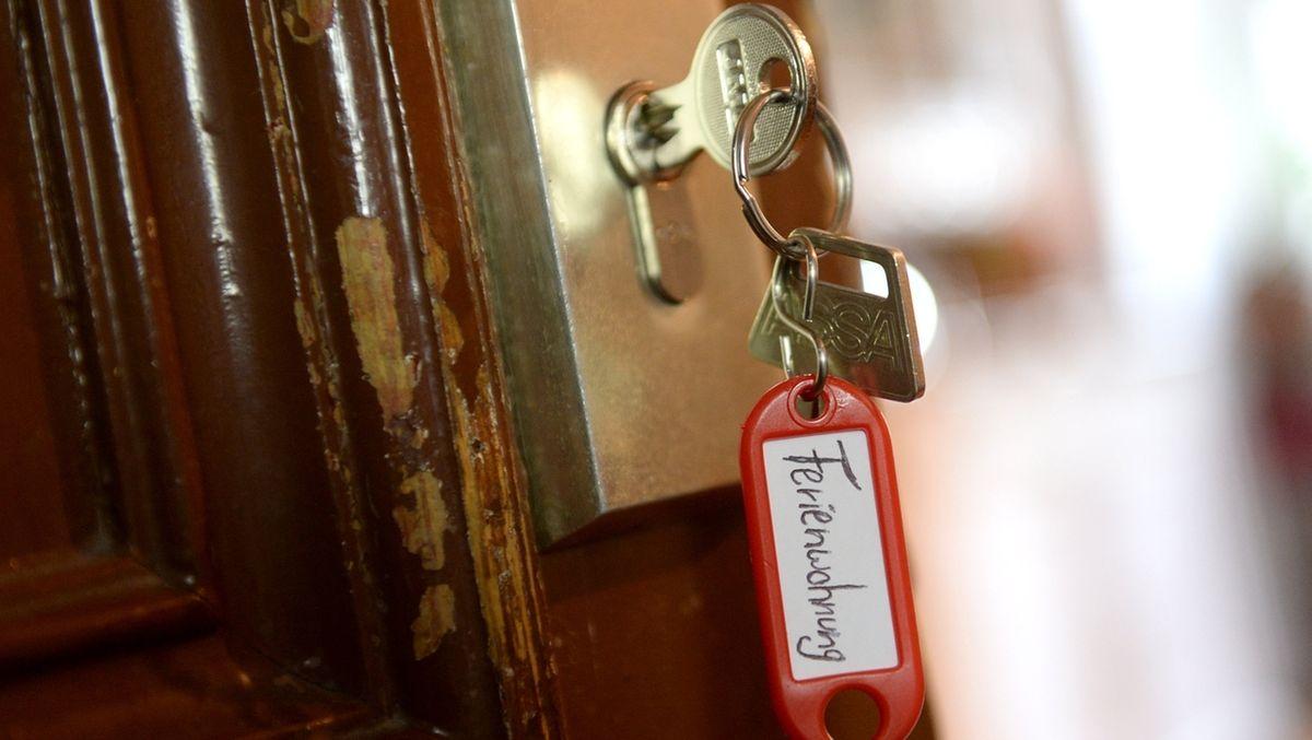 Schlüssel zu einer Ferienwohnung