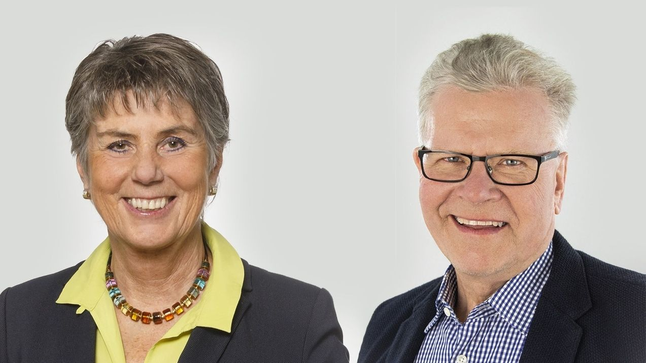 Brigitte Merk-Erbe und Thomas Ebersberger