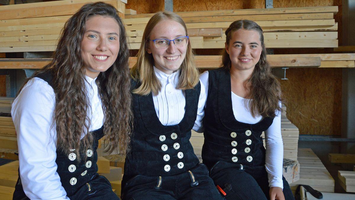 Kathi, Elisabeth und Sabrina Schmid