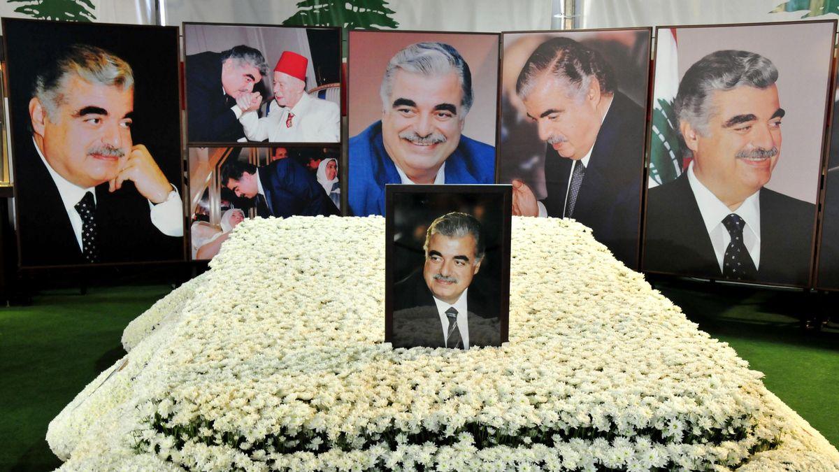 Grab des 2005 bei einem Attentat ums Leben gekommenen ehemaligen libanesischen Ministerpräsidenten Rafik Hariri in Beirut, Libanon.