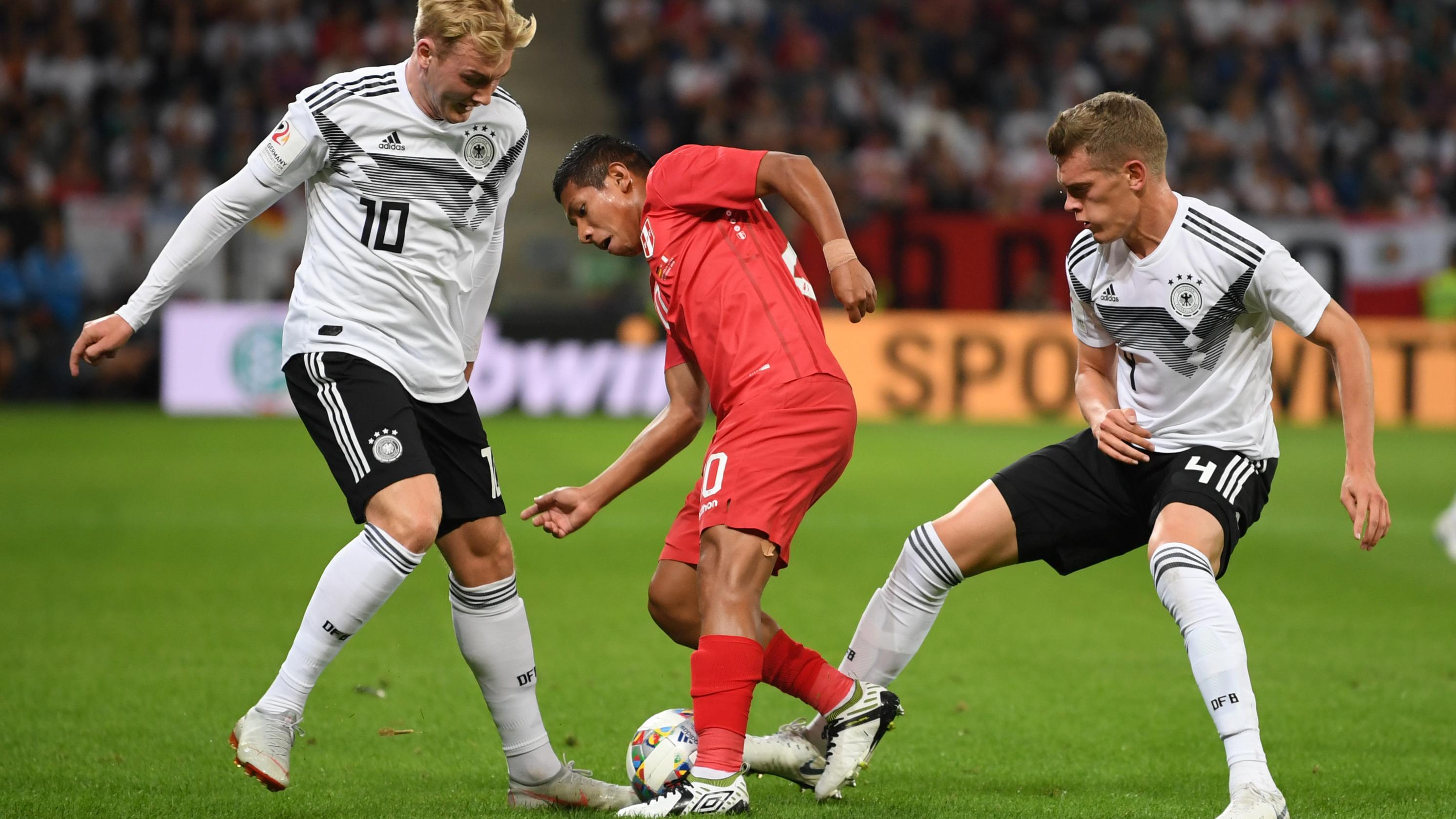 Freundschaftsspiel Deutschland - Peru in Sinsheim / Baden-Württemberg