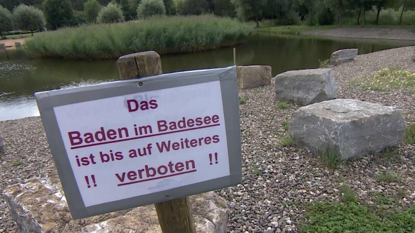 Im Frensdorfer Badesee wurde eine Belastung mit Blaualgen und Noroviren festgestellt.