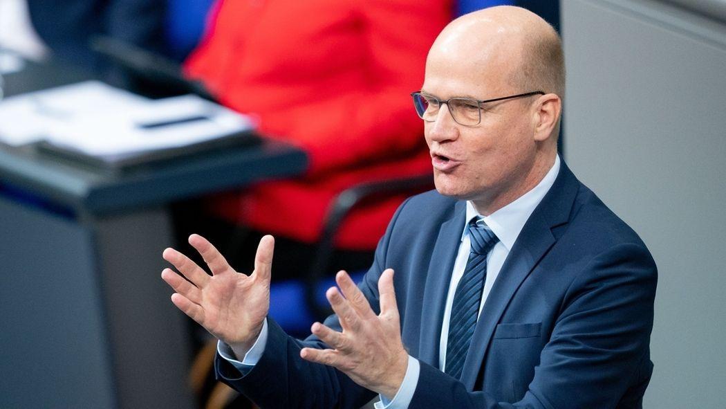 Ralph Brinkhaus (CDU) im Bundestag