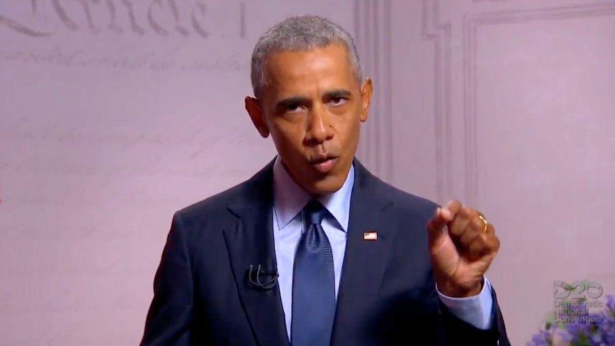 Barack Obama bei seiner Video-Ansprache