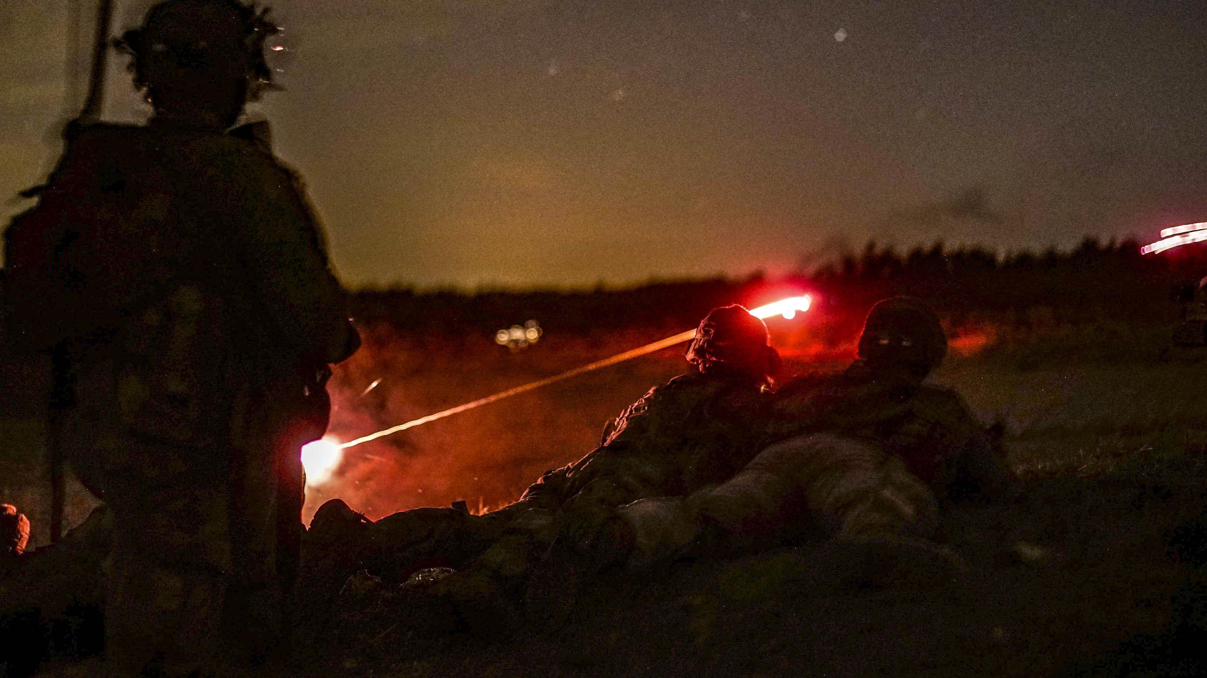 Auf der Truppenübungsplatz in Grafenwöhr geht das Leben seinen gewohnten Gang: Die US-.Armee ist vom Haushaltsstreit nicht betroffen.