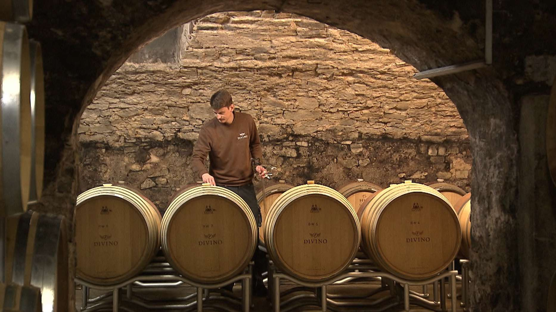 Weinkeller der Winzergenossenschaft Divino Nordheim