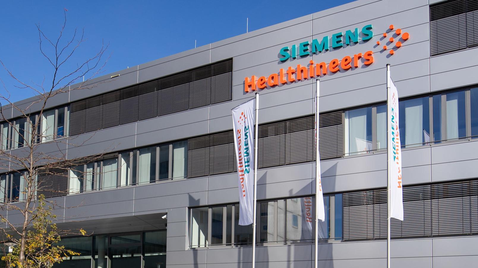 Die neue Firmenzentrale des Medizintechnikkonzerns Siemens Healthineers