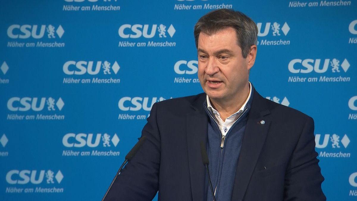 Ministerpräsident und CSU-Chef Markus Söder.