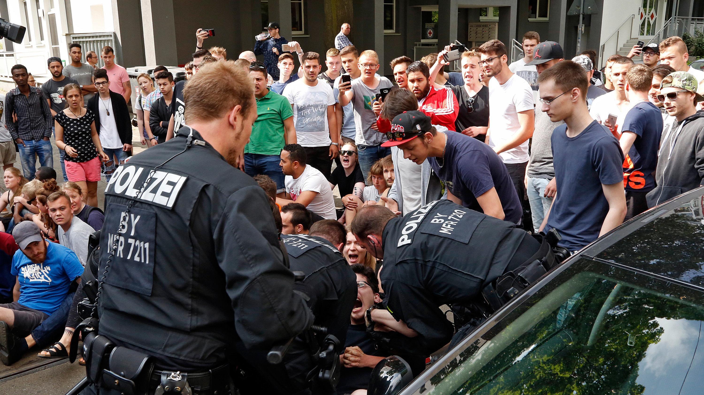 Tumult bei Abschiebeversuch in Nürnberg