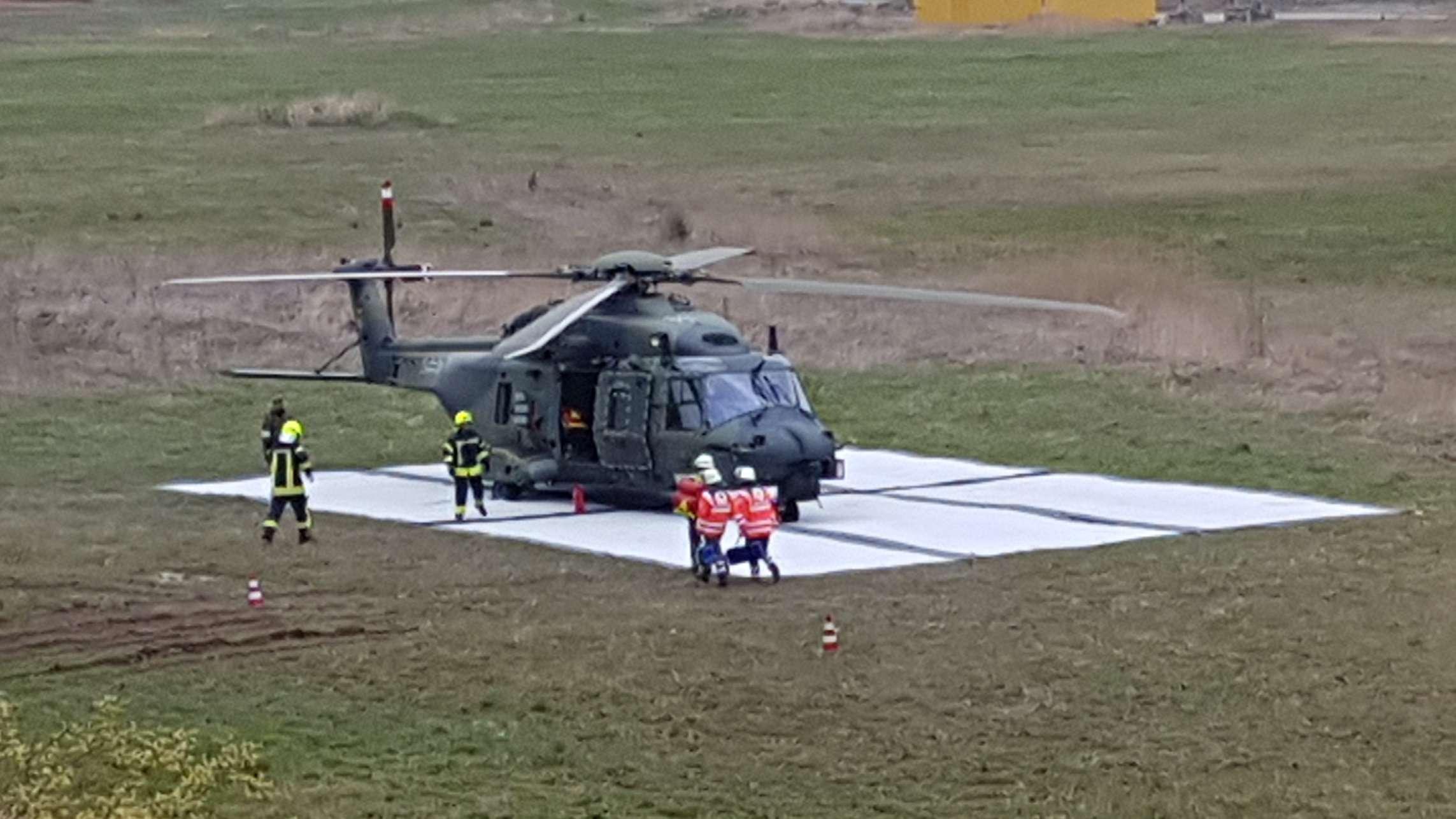 Bundeswehrhubschrauber NH90