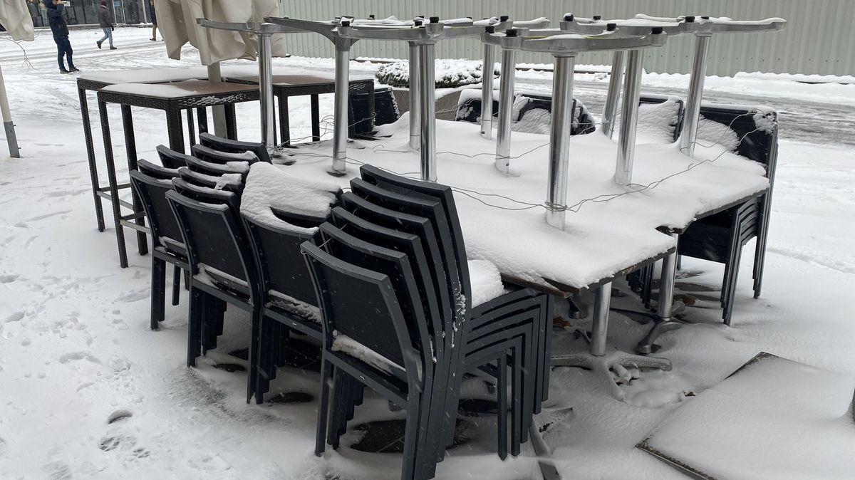 Winter in Zeiten der Coronavirus Pandemie.