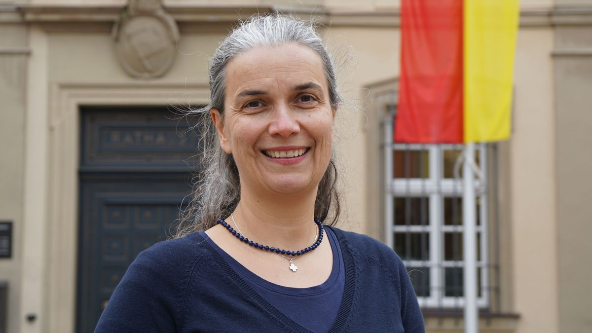 Dagmar Dewald, Würzburger OB-Kandidatin der ÖDP