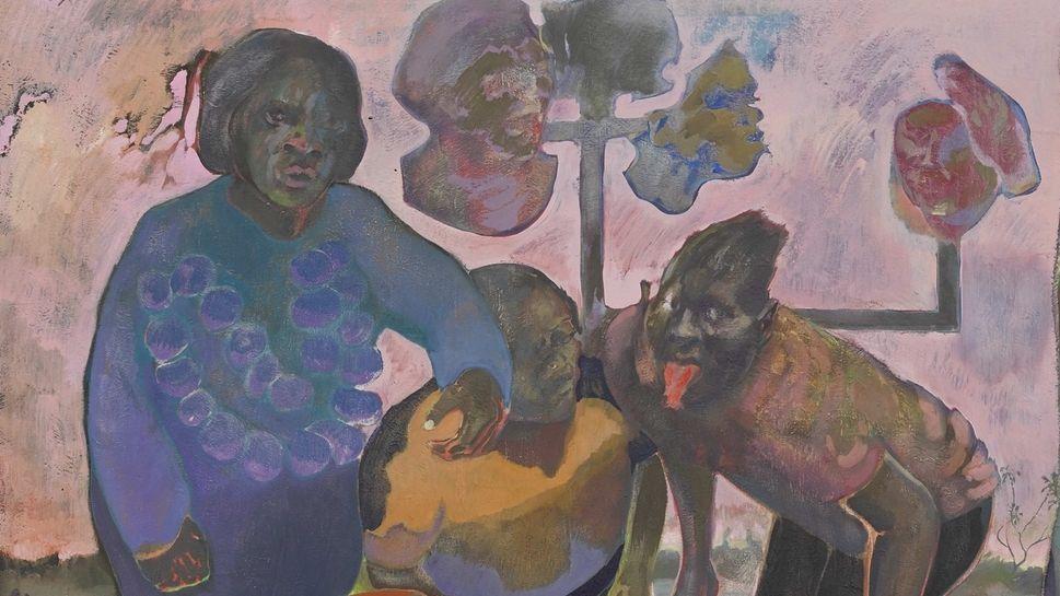 """Ein kleiner Ausschnitt aus einem großen Gemälde: """"The promise of change"""" von 2018"""