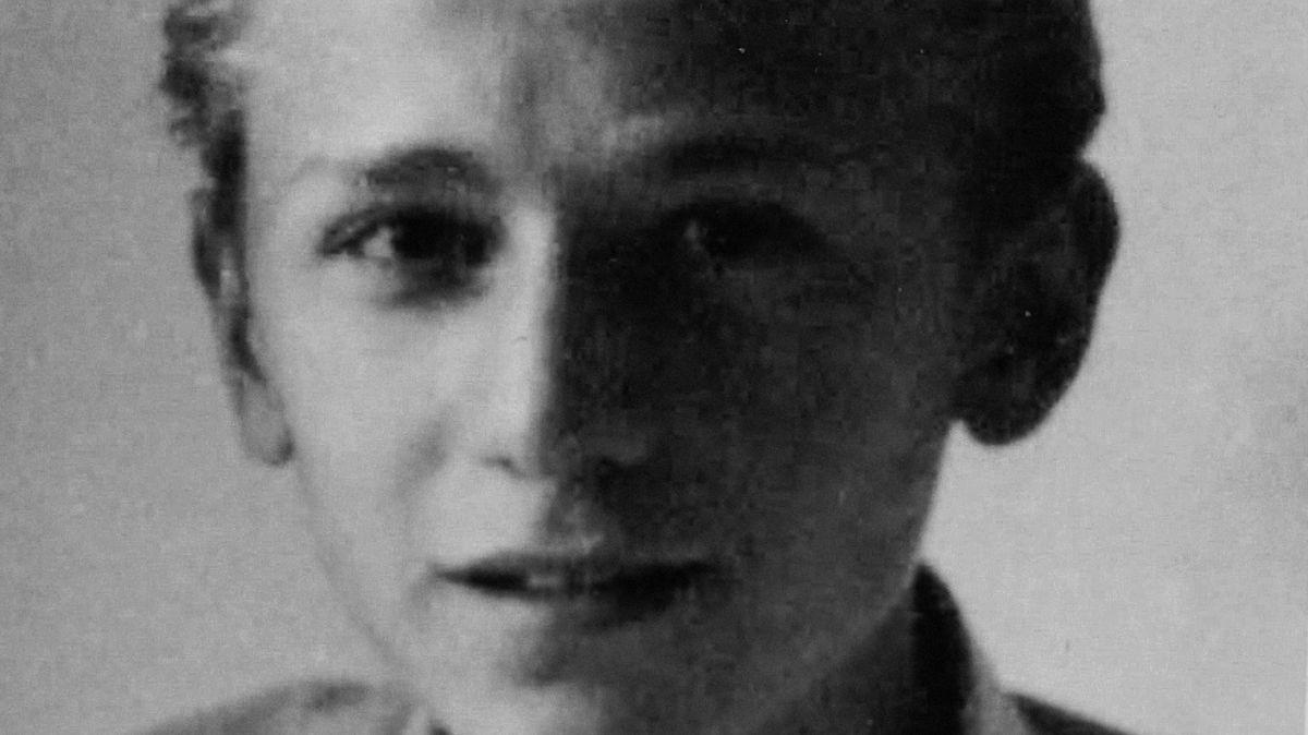 Dušan Stefančič als Kind
