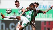 SpVgg Greuther Fürth - FC St. Pauli   Bild:dpa-Bildfunk/Daniel Karmann