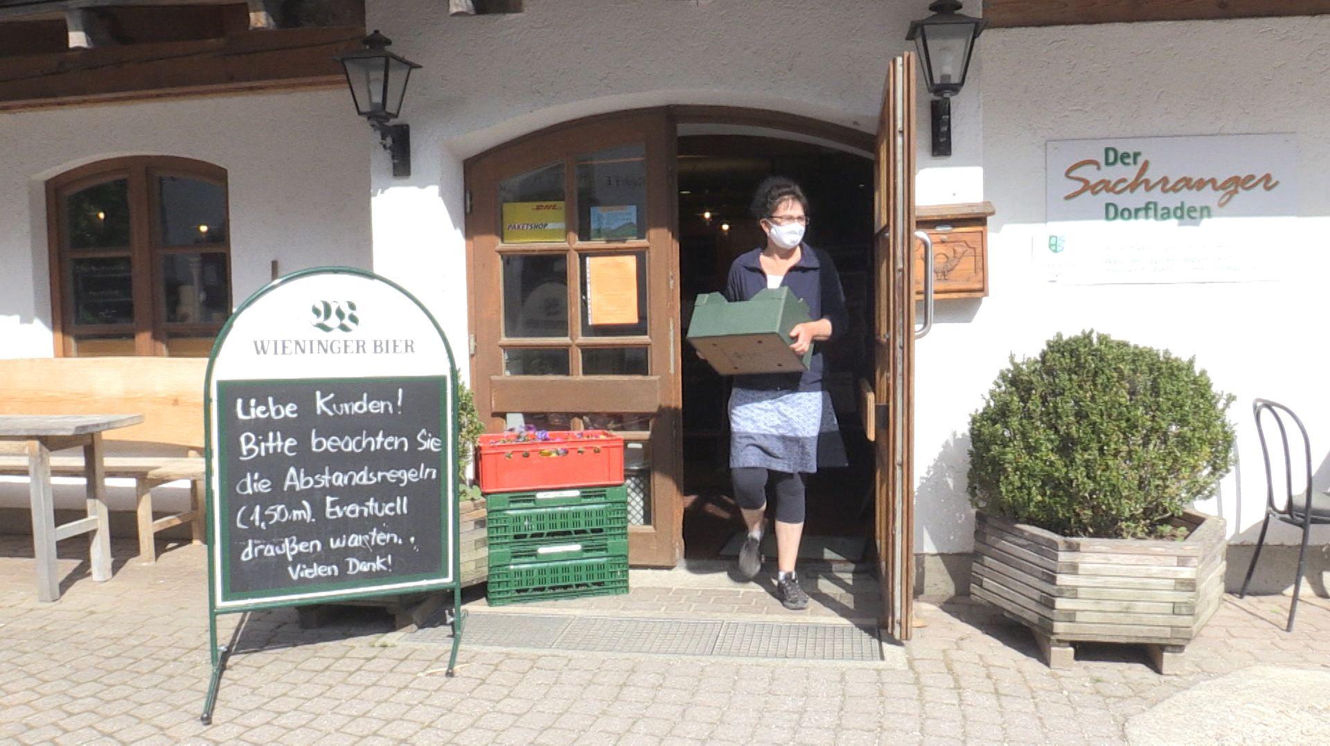 Dorfladen Sachrang.
