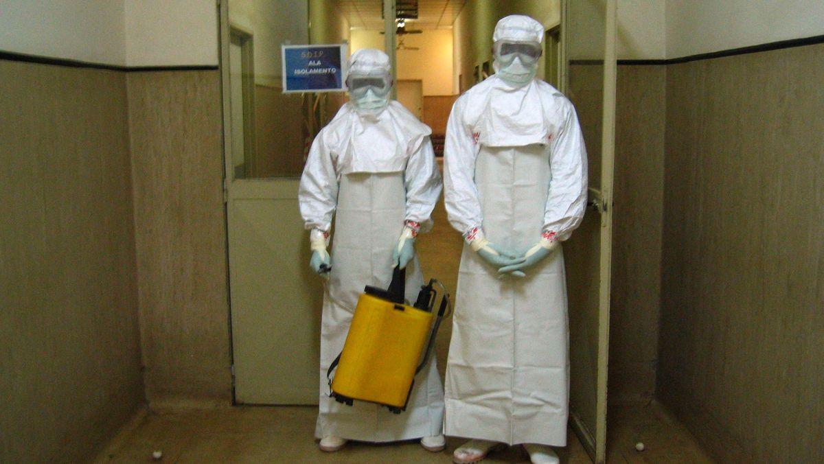 Mehr als 200 Menschen sind bis Mitte April 2005 bei einem Ausbruch des tödlichen Marburg-Virus in Angola gestorben.
