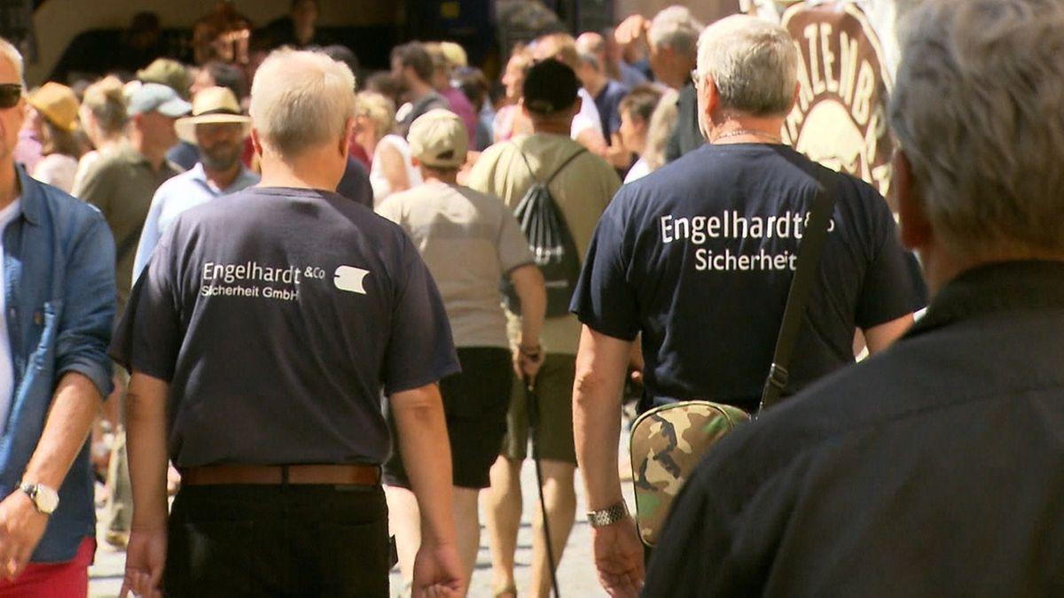 Sicherheitsfirma Engelhardt aus Nürnberg durch Verkauf gerettet