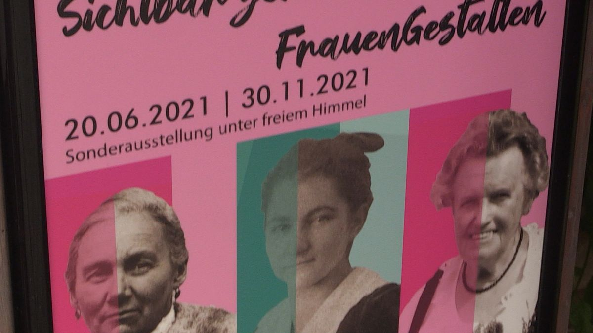"""Ausstellungsplakat """"FrauenGestalten"""""""
