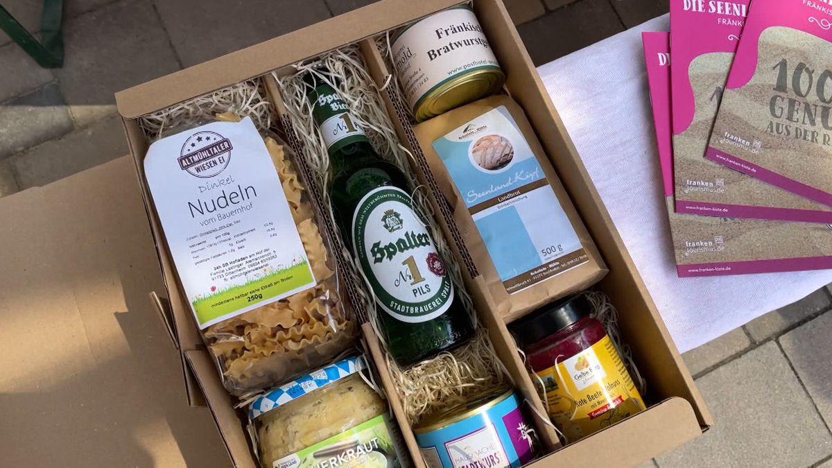 Seenland-Kiste als kulinarische Botschafterin