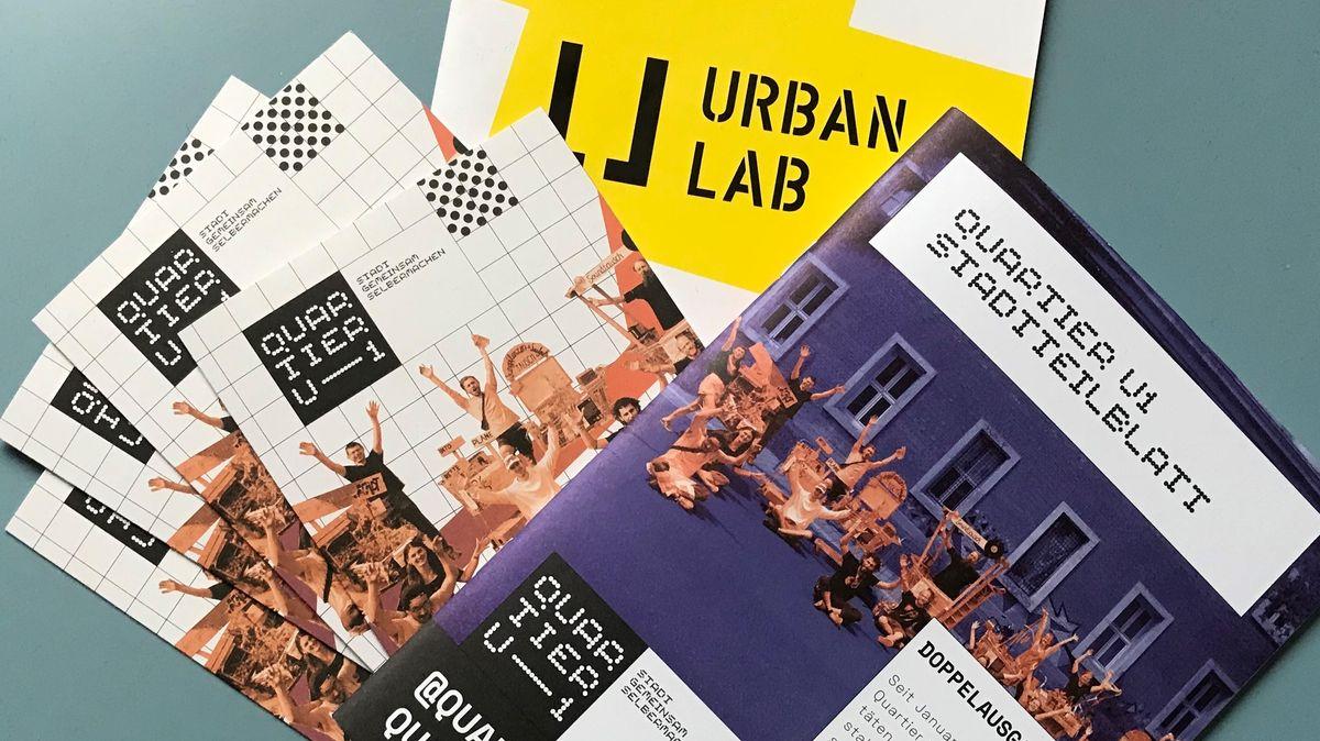Miteinander die Stadt gestalten - Infomaterial des Urban Labs in Nürnberg
