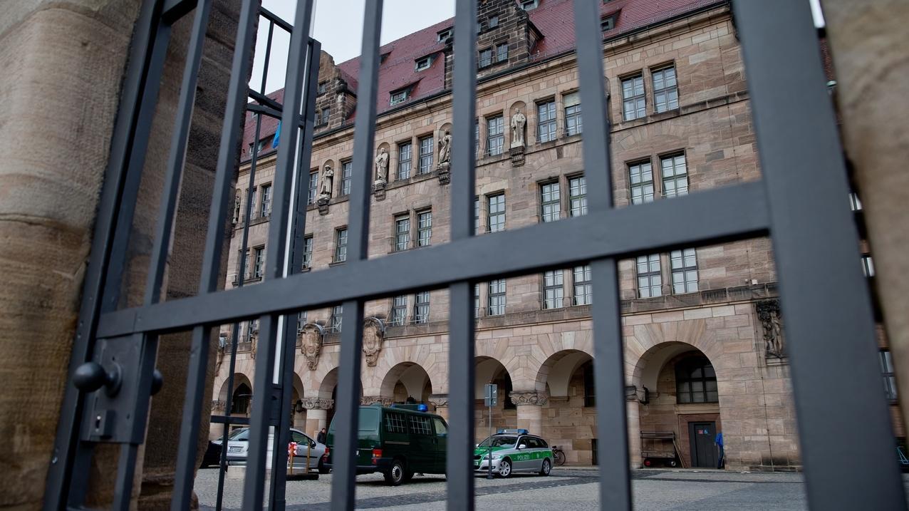 Außenansicht des Landgerichts Nürnberg-Fürth in Nürnberg