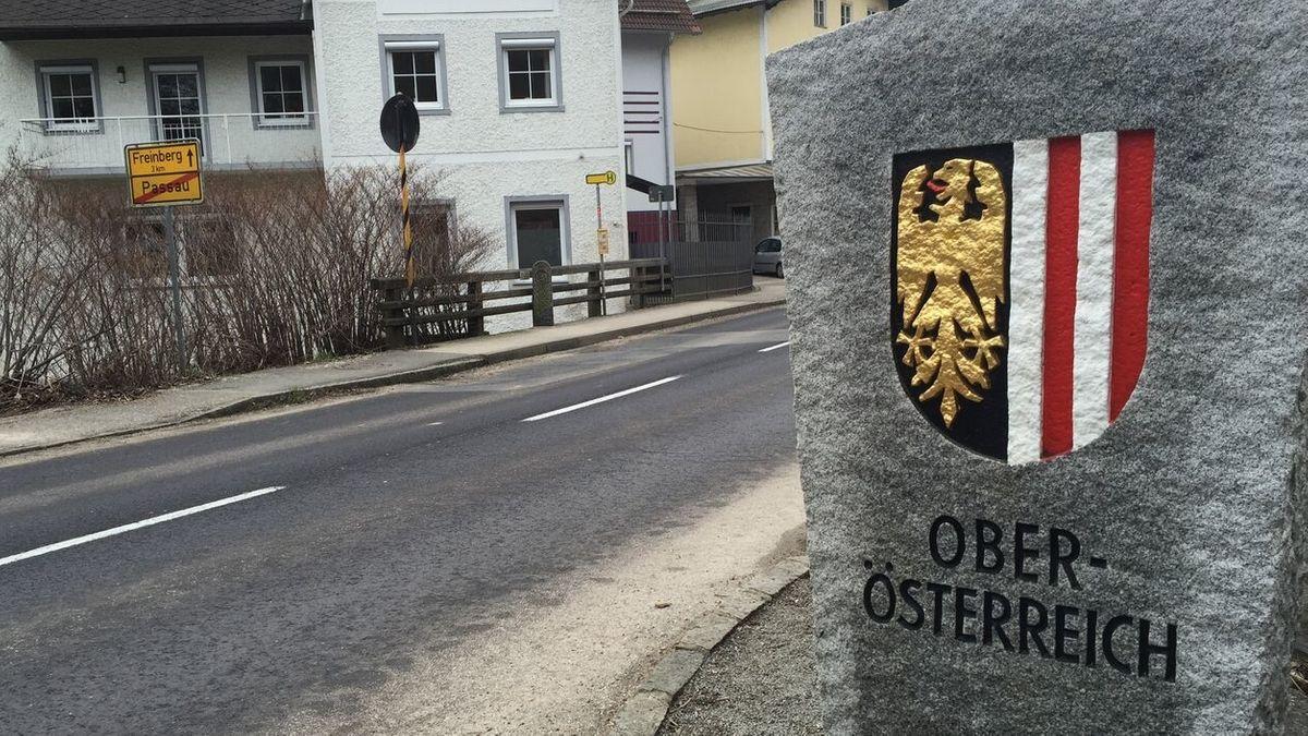 Die deutsch-österreichische Grenze