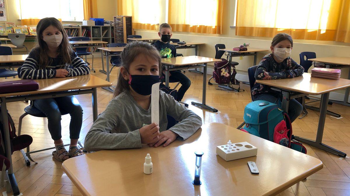 Klappen Selbsttests an Grundschulen?