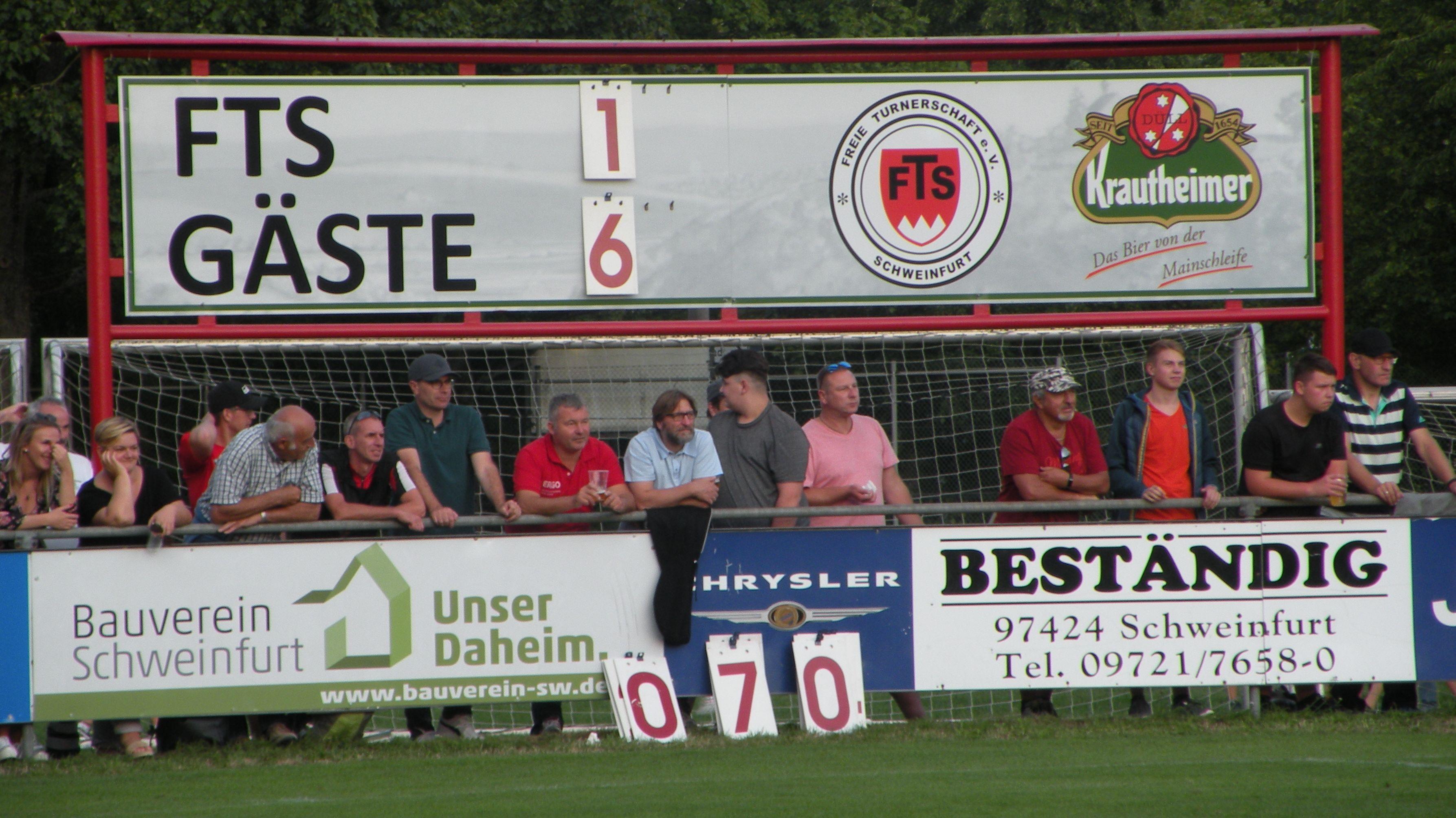 Klare Sache: FT Schweinfurt verlieren 1:6 gegen 1860 München