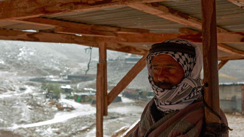 Beduinen im Westjordanland kämpfen um ihre Hütten