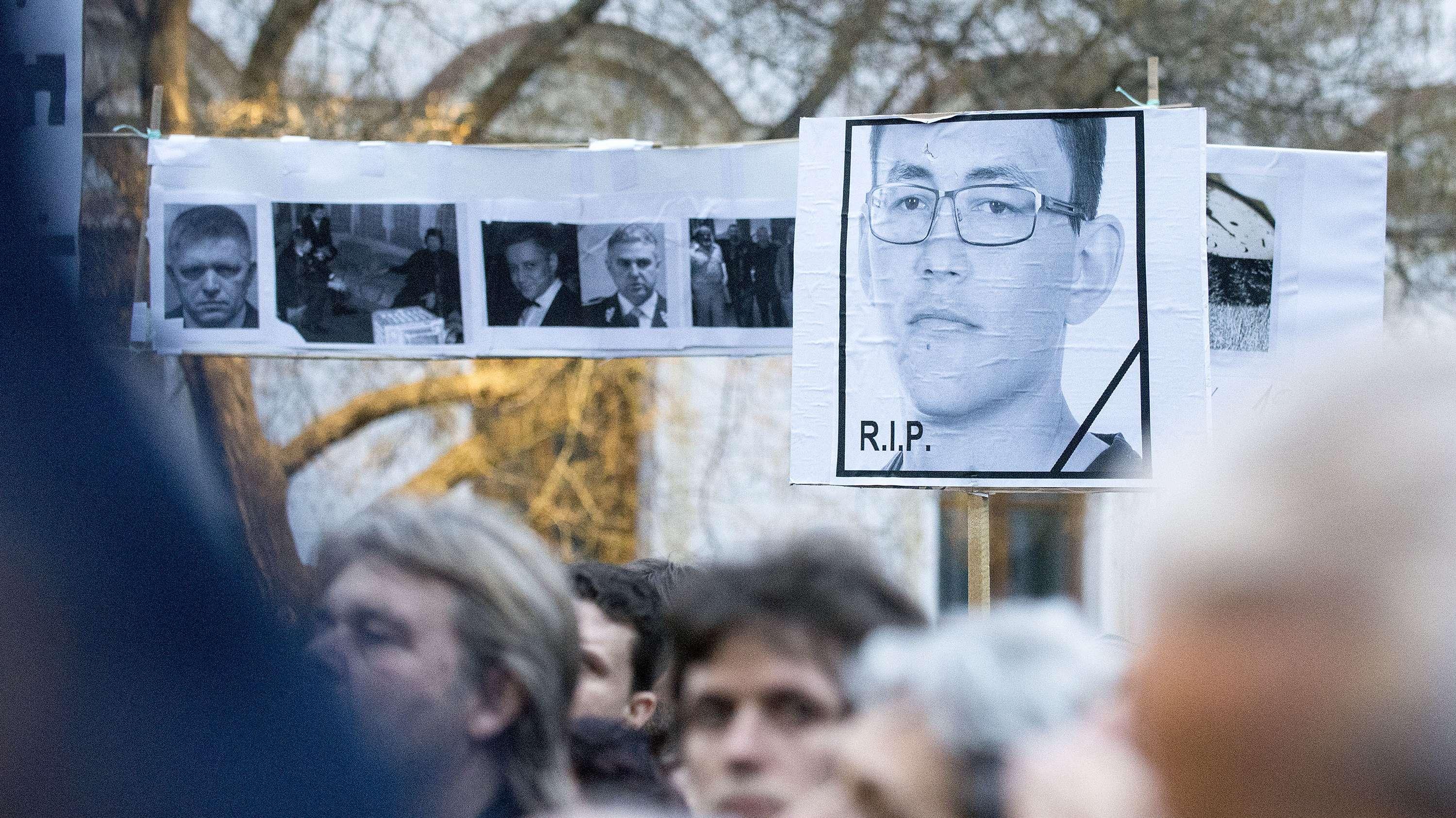 Massenproteste nach dem Mord an Jan Kuciak