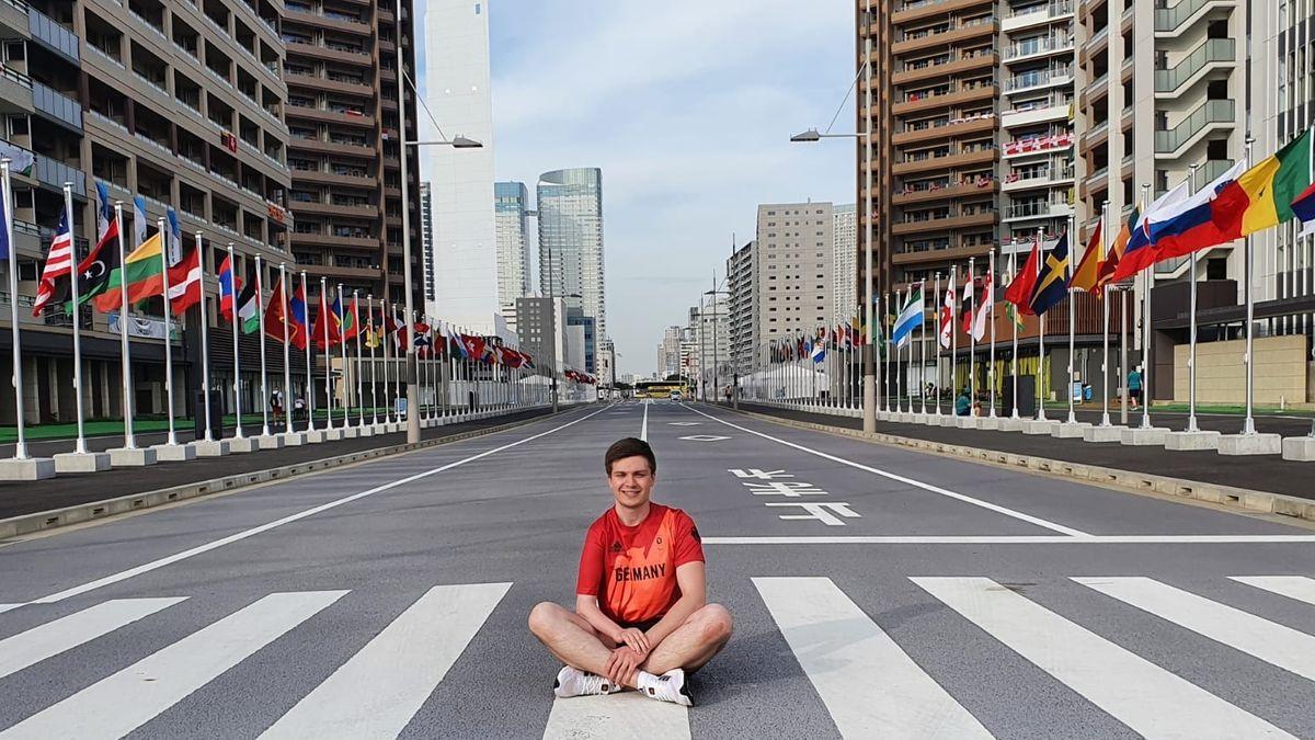 Sportschütze Tobias Meyer bei den Paralympics in  Tokio